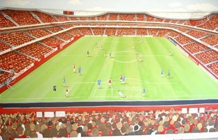 Best Arsenal Wall Painting Childrens Murals Mural Wall Painting 400 x 300