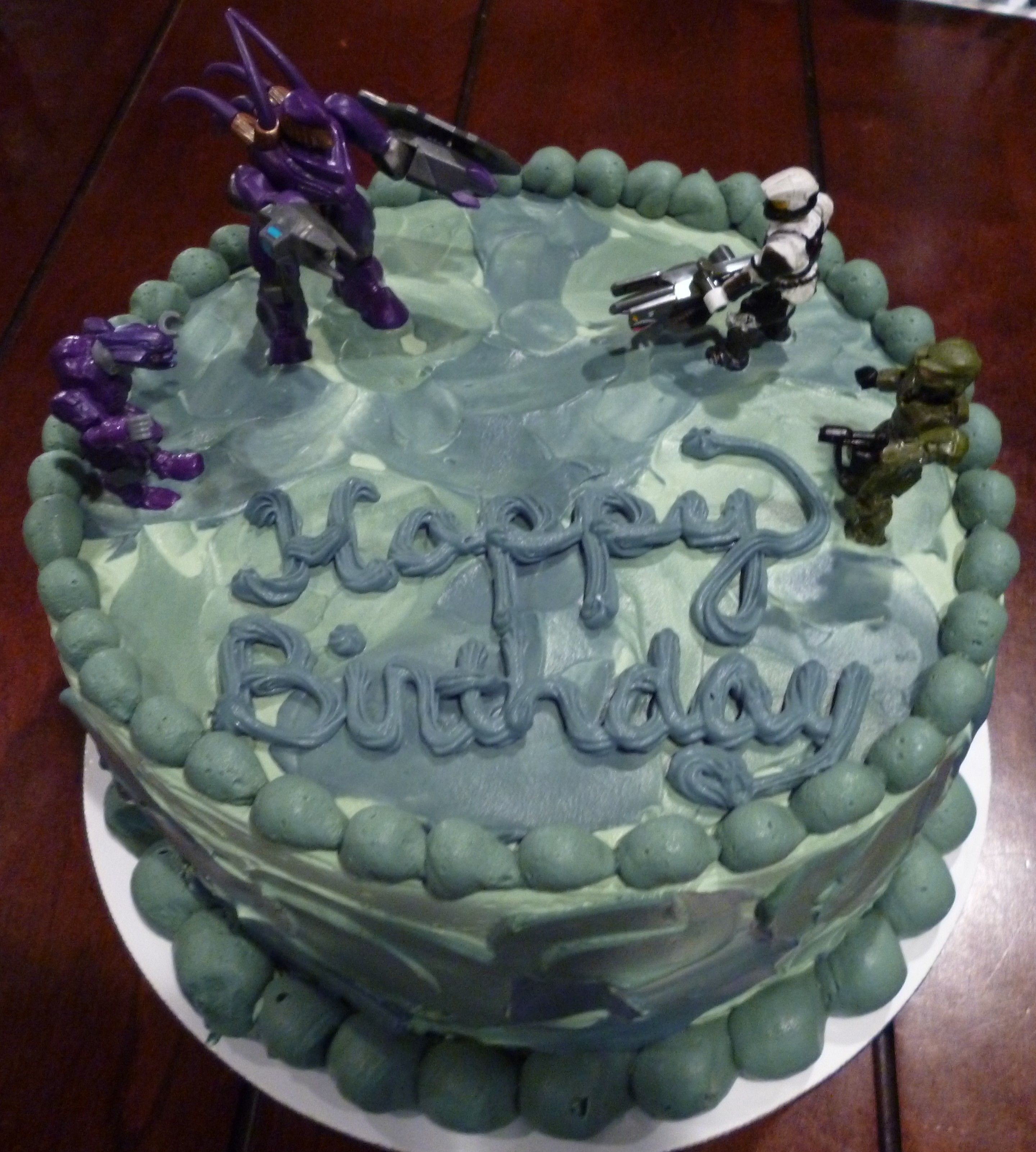 halo birthday cake ideas Halo Cake Decorating Community Cakes