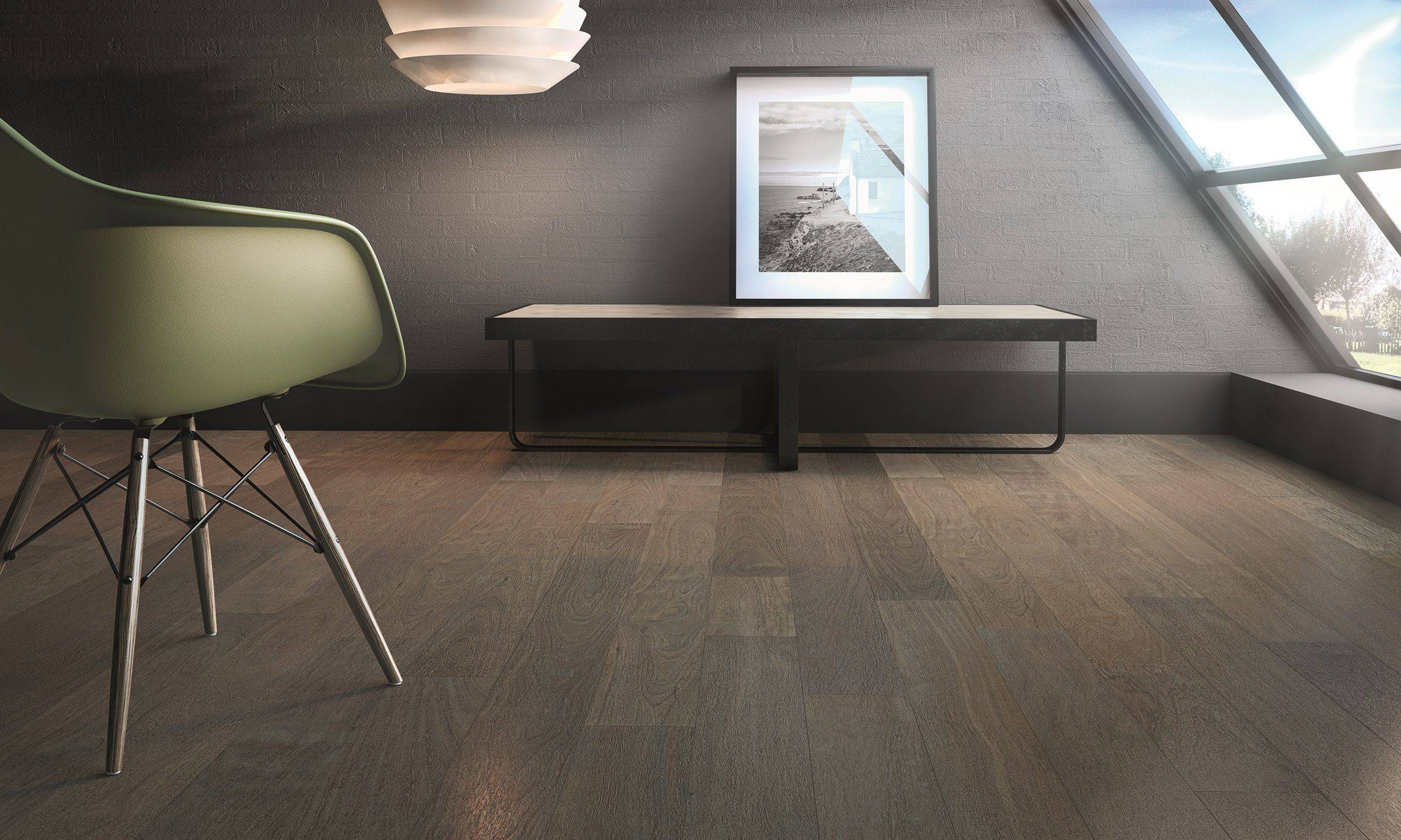 Verdon Sucupira Wire Brushed Solid Hardwood Hardwood