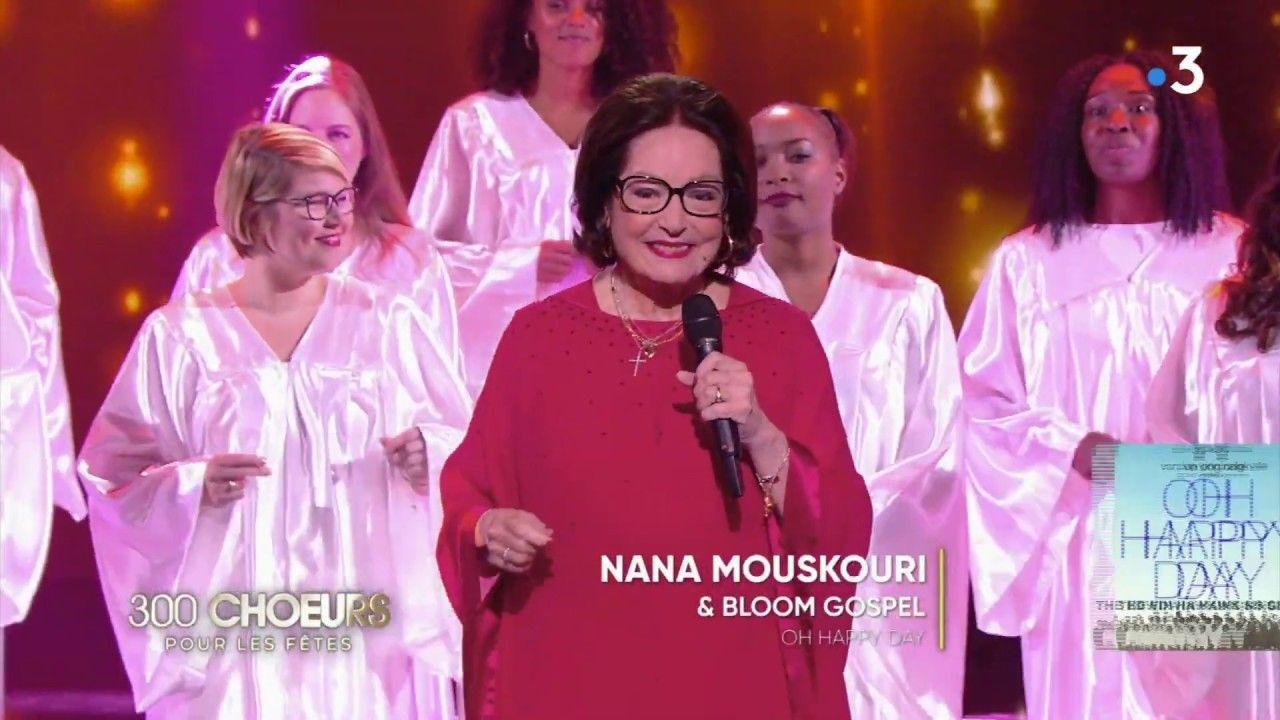 Bloom Gospel Choir Oh Happy Day with Nana Mouskouri Bloom