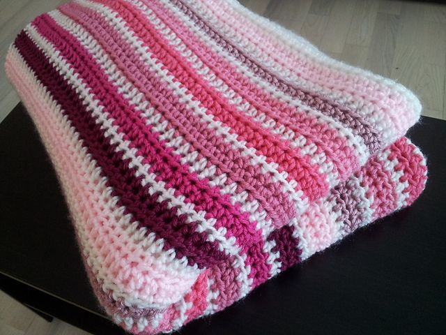Simple half-double crochet throughout:)