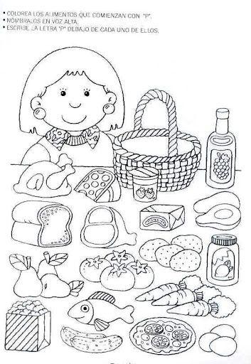 trabajar la letra p con niños de primaria | Silaba | Pinterest ...