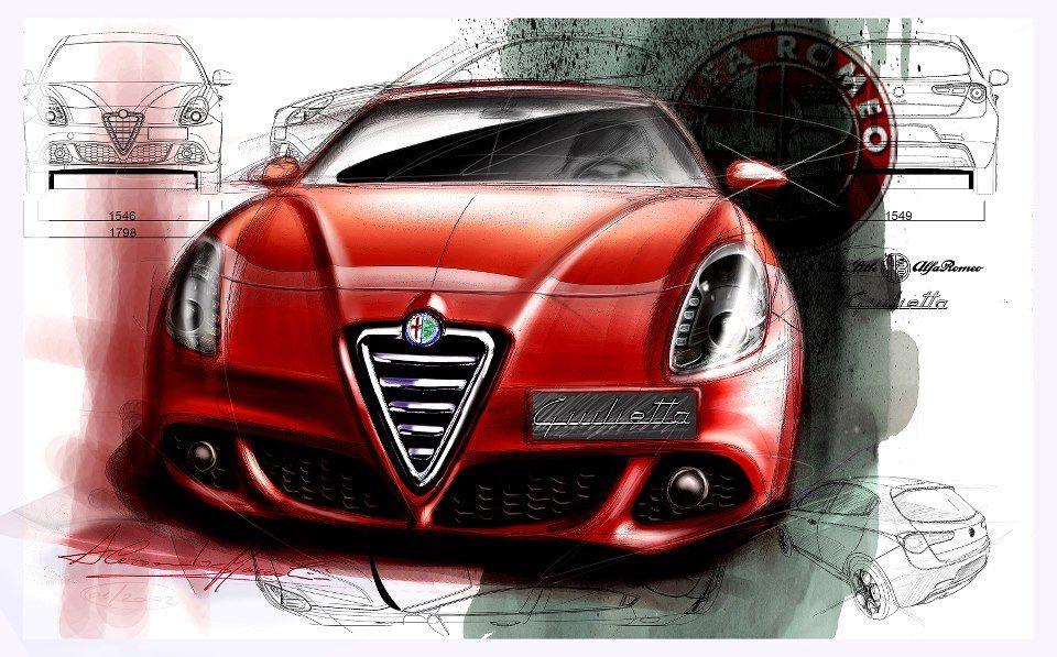 Alfa Romeo Giulietta Design By Alessandro Maccolini With Images