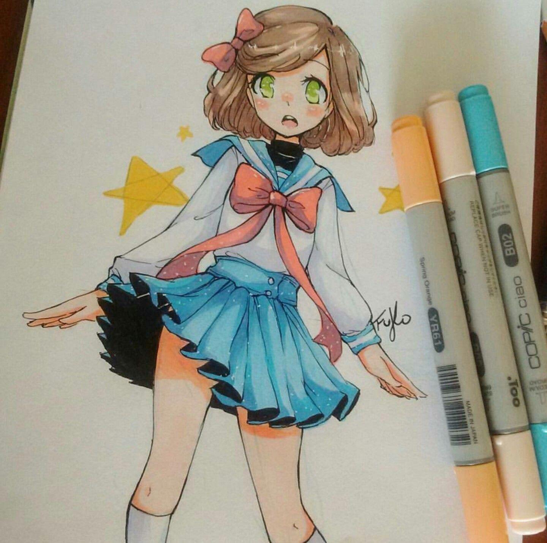 Pin Rebecca . Colorpalette In 2019 Anime Art Manga Copic Marker