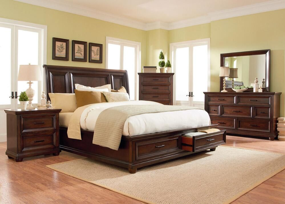 The Napa King Bedroom Set Is Simple Yet Elegant And Will