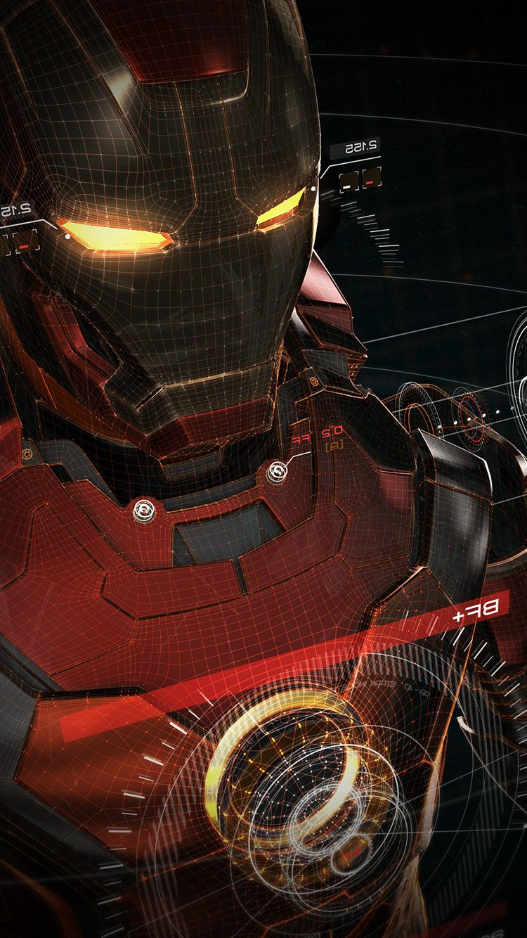 After Publishing Red Abstract IPhone 7 Wallpaper Here Again An Animated Picture Of Iron Man For Apple Background I Think That This