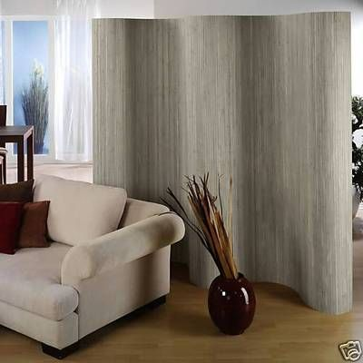 Paravent Raumteiler Trennwand Wand Dekowand Sichtschutz Aus Bambus