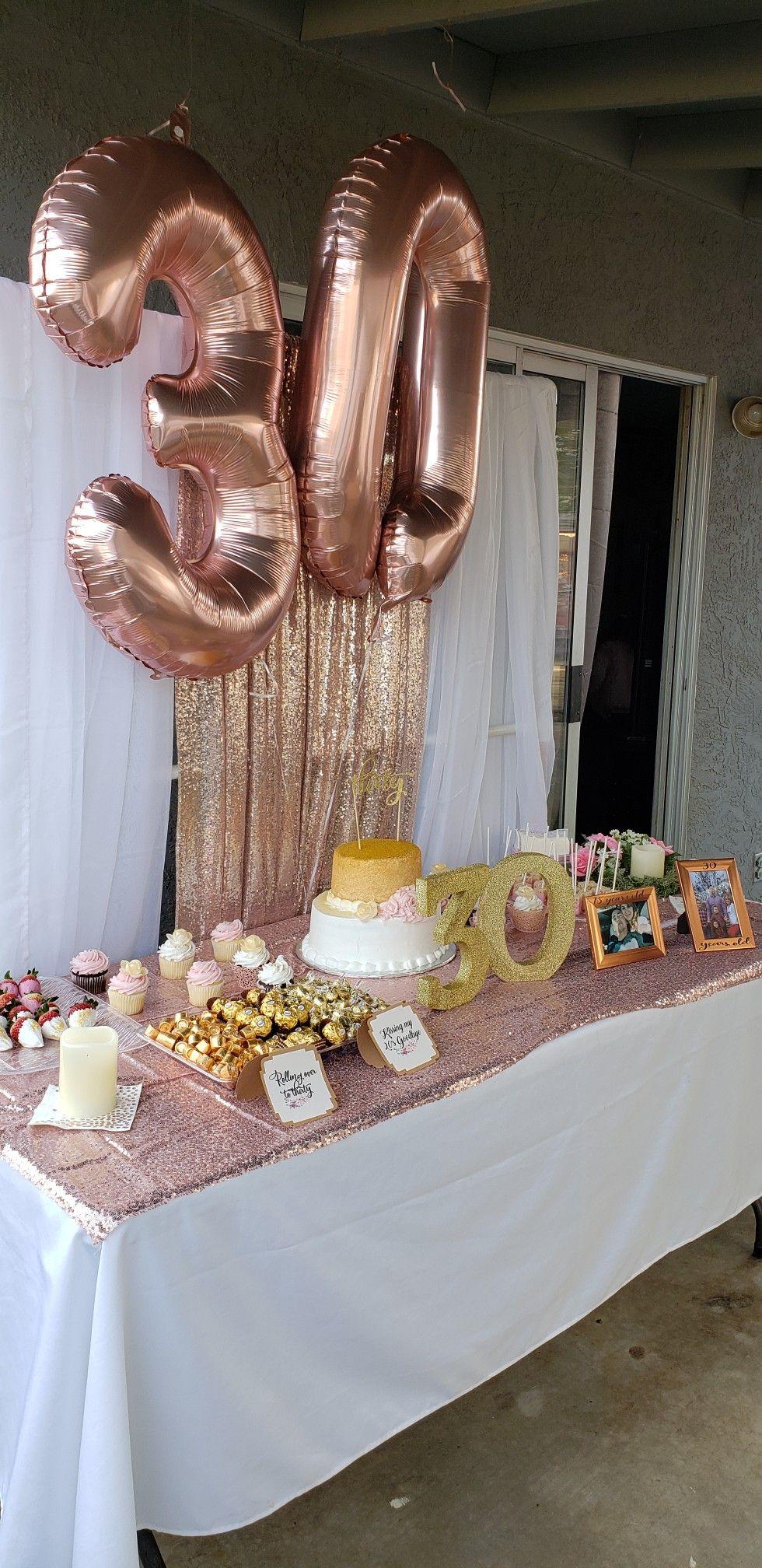 30th Birthday   Birthday candy table, Birthday table ...