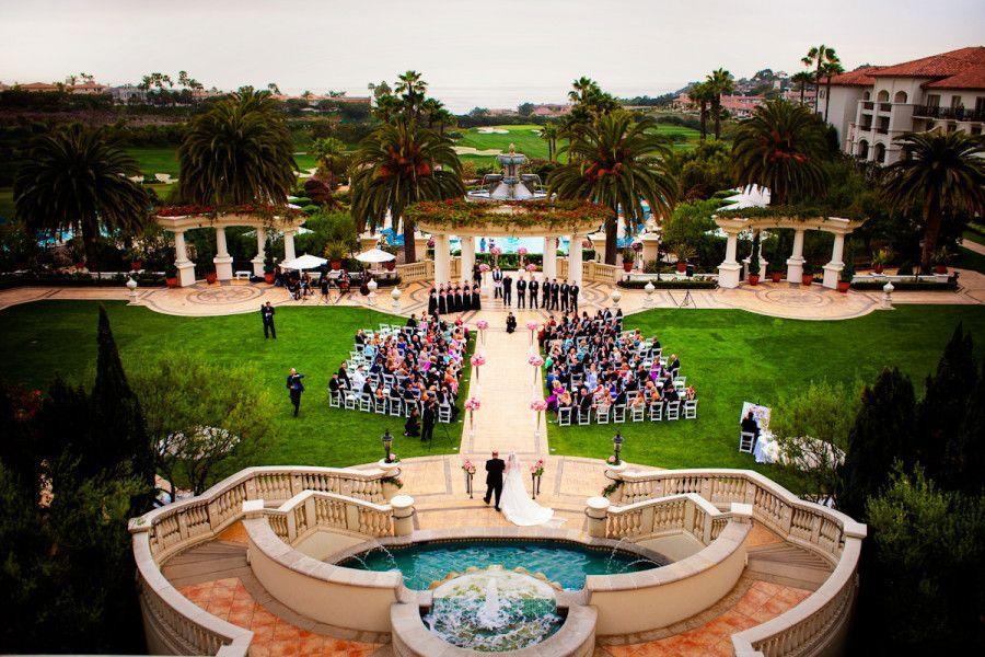 Monarch Beach Resort Dana Point California United States And Wedding