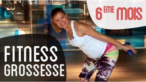 Grossesse et sport   fitness pour le 6eme mois de grossesse. Quel sport  pendant la grossesse   Séance de gym en vidéo pour femmes enceintes. d6039355ec9