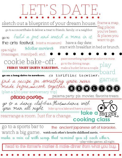 200+ Cheap Date Ideas For The Whole Year | Couple fun and Creative