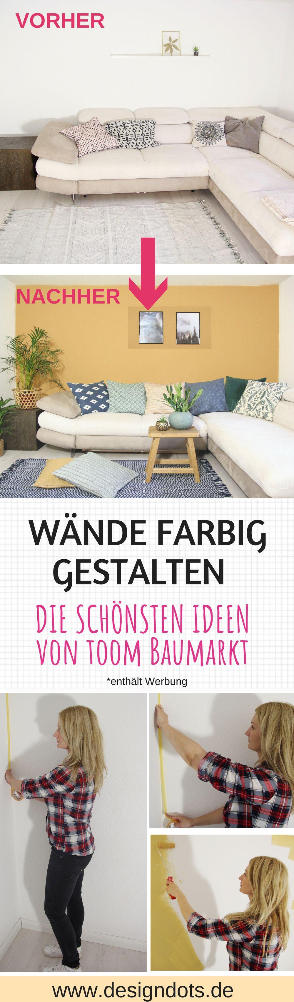 Wande Farbig Gestalten Die Schonsten Ideen Von Toom Baumarkt Design Dots Gestalten Toom Baumarkt Ideen