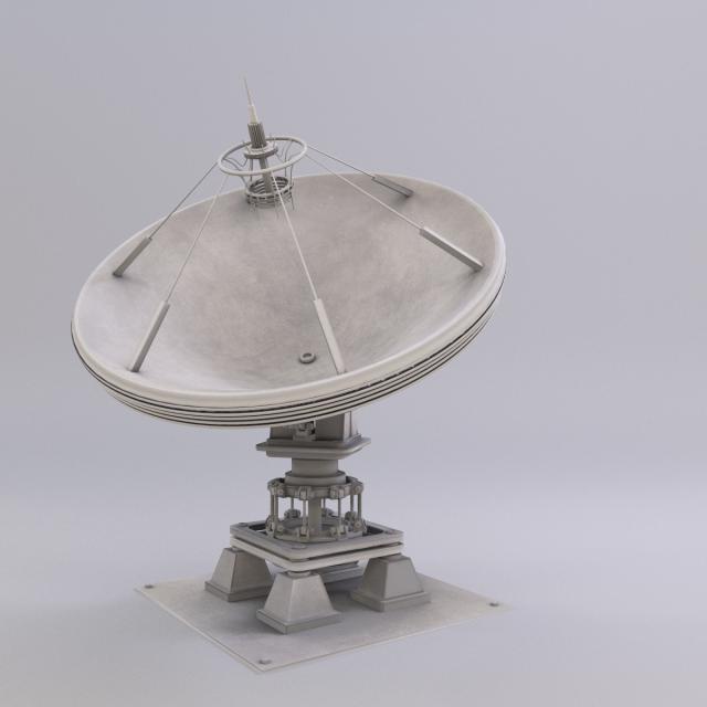 Satellite Dish 3d Model Max C4d Obj 3ds Fbx Lwo Stl 3dexport Com By Chasi Satellite Dish Mirror Table Mirror