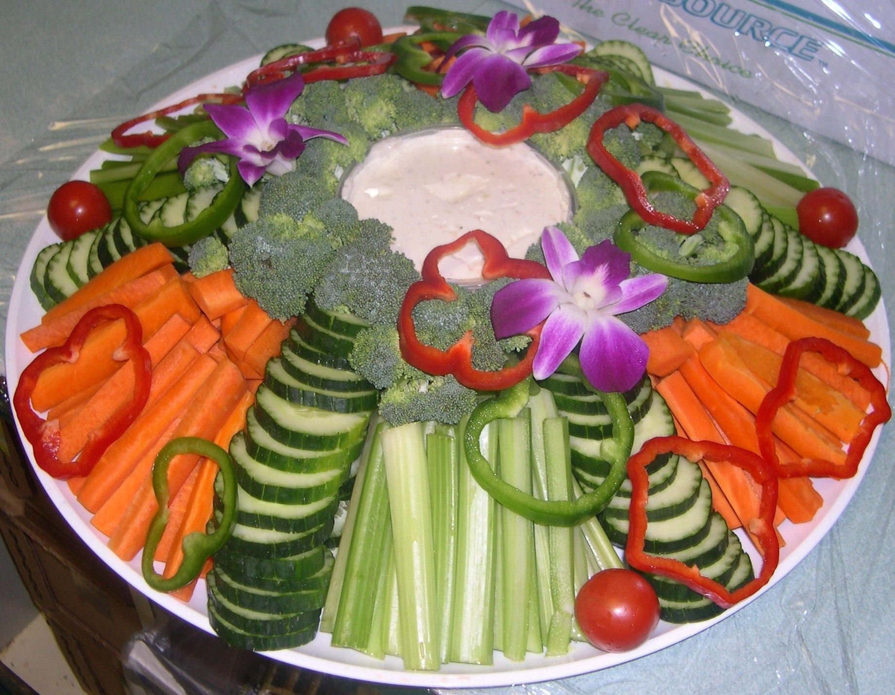 Cold Vegetable Tray