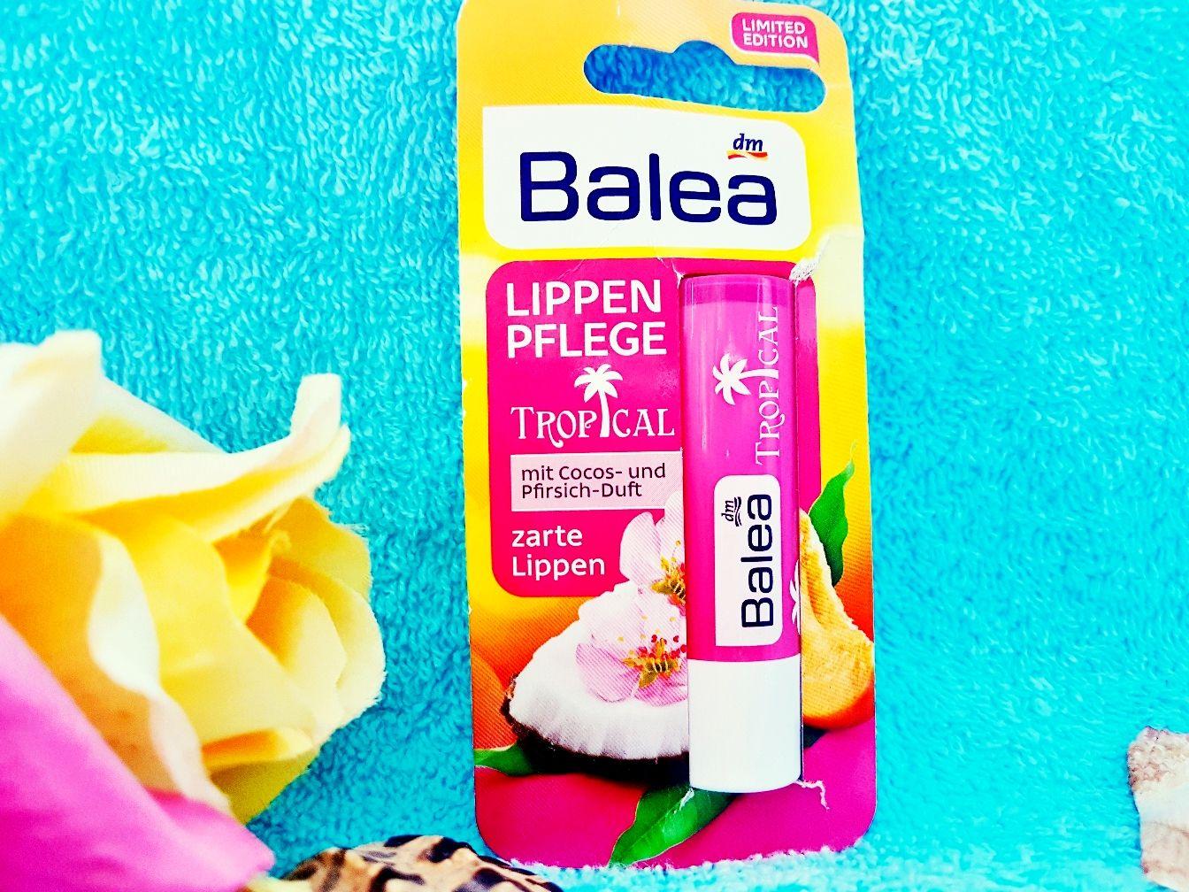Balea Lippenpflege Tropical