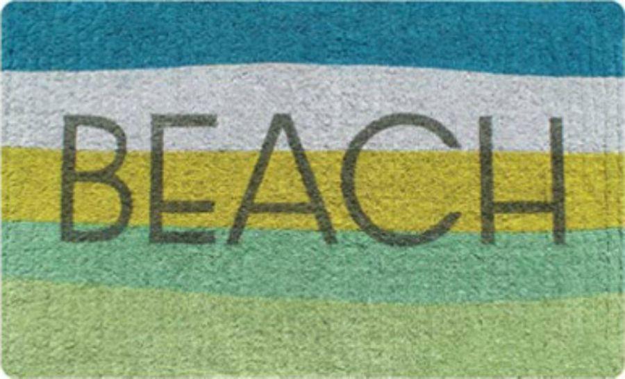Exceptionnel Doormats By French Knot   Aqua Beach Doormat   Regular   @ $54.95ea Best  Shopping