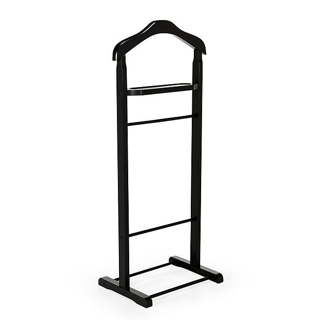 Genial Winston Valet / Porte Vêtement Noir En Bois