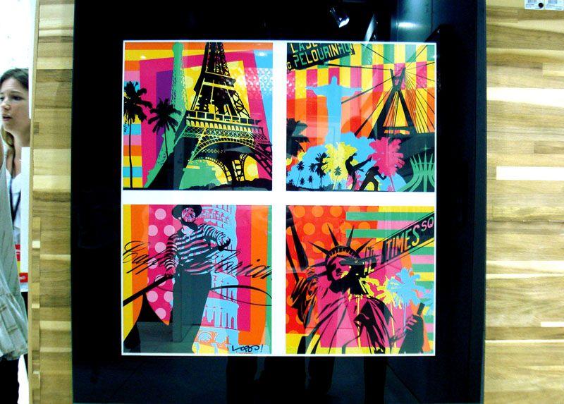 COLORS | WORLD | LOBO | POP ART  www.lobopopart.com.br