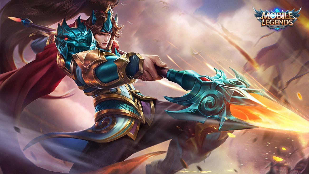 zilong | mobile legend wallpaper, mobile legends, the legend