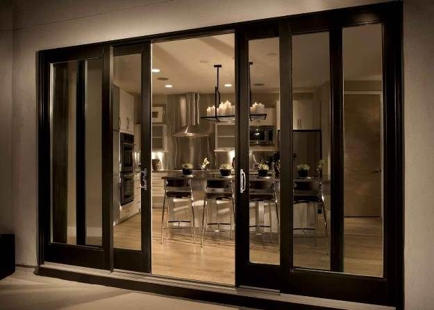 Paint Patio Doors? Reliabilt Sliding Patio Doors With Built In Blinds