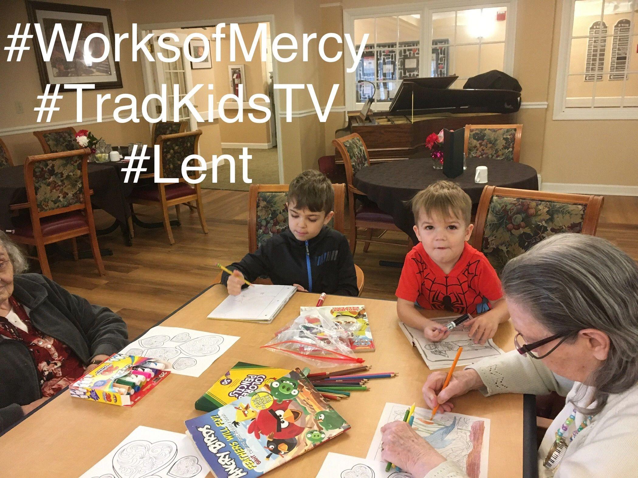 Corporal Amp Spiritual Works Of Mercy Lenten Family