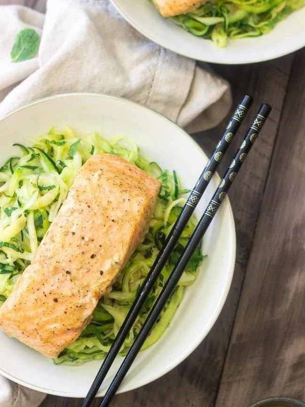 how to cook zucchini noodles in microwave