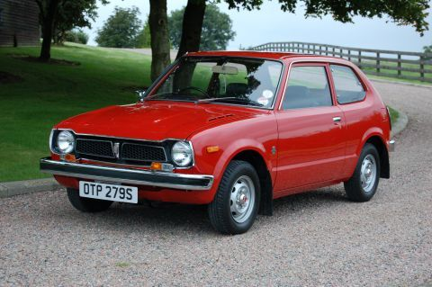 honda civic 1977 my first card the hoda it was missing. Black Bedroom Furniture Sets. Home Design Ideas