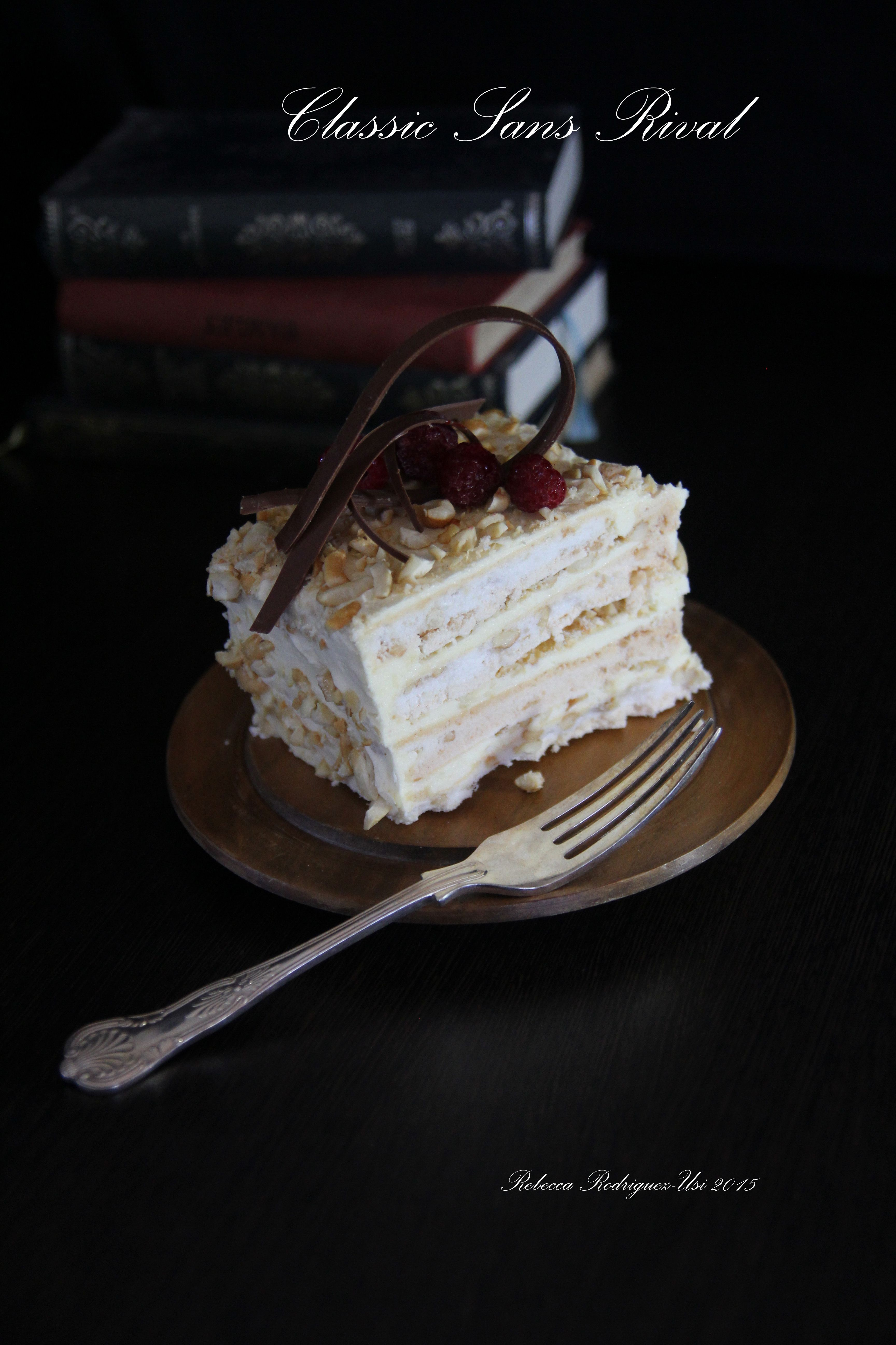 Classic sans rival food dark food photography sans rival
