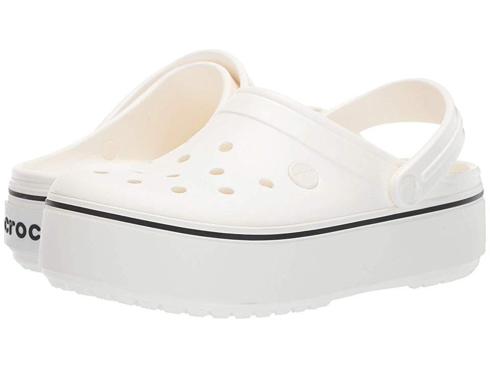 Crocs Crocband Platform Clog Shoes