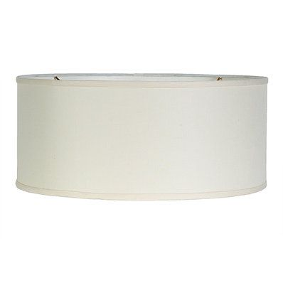 16 Euro Fitter Linen Drum Shade With Images Modern Drum Drum