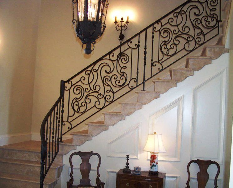 Color Idea For Painting Vintage Stair Railing