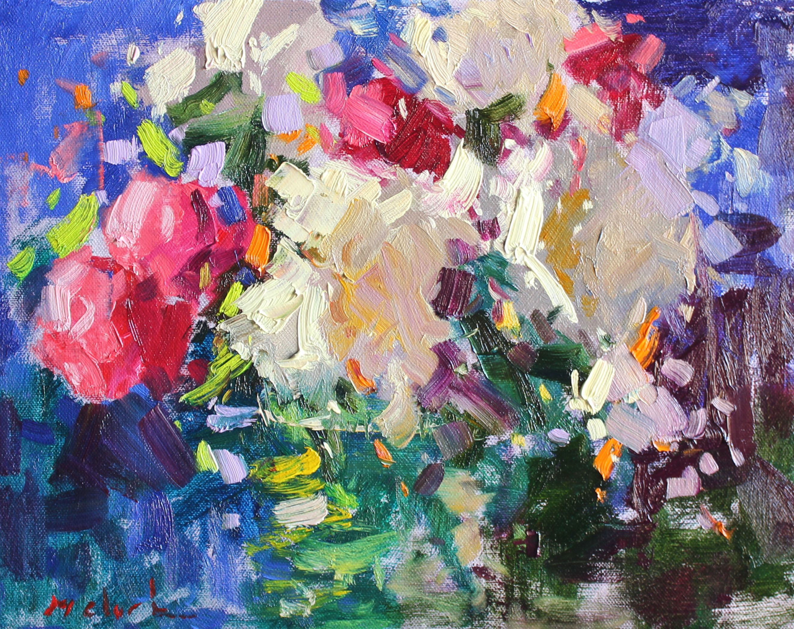 Pin By Michael Clark Fine Art On Paintings Flower Painting Art Floral Art