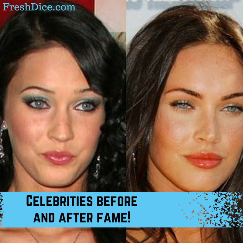 Before and After Fame Photos of Celebrities Celebrities