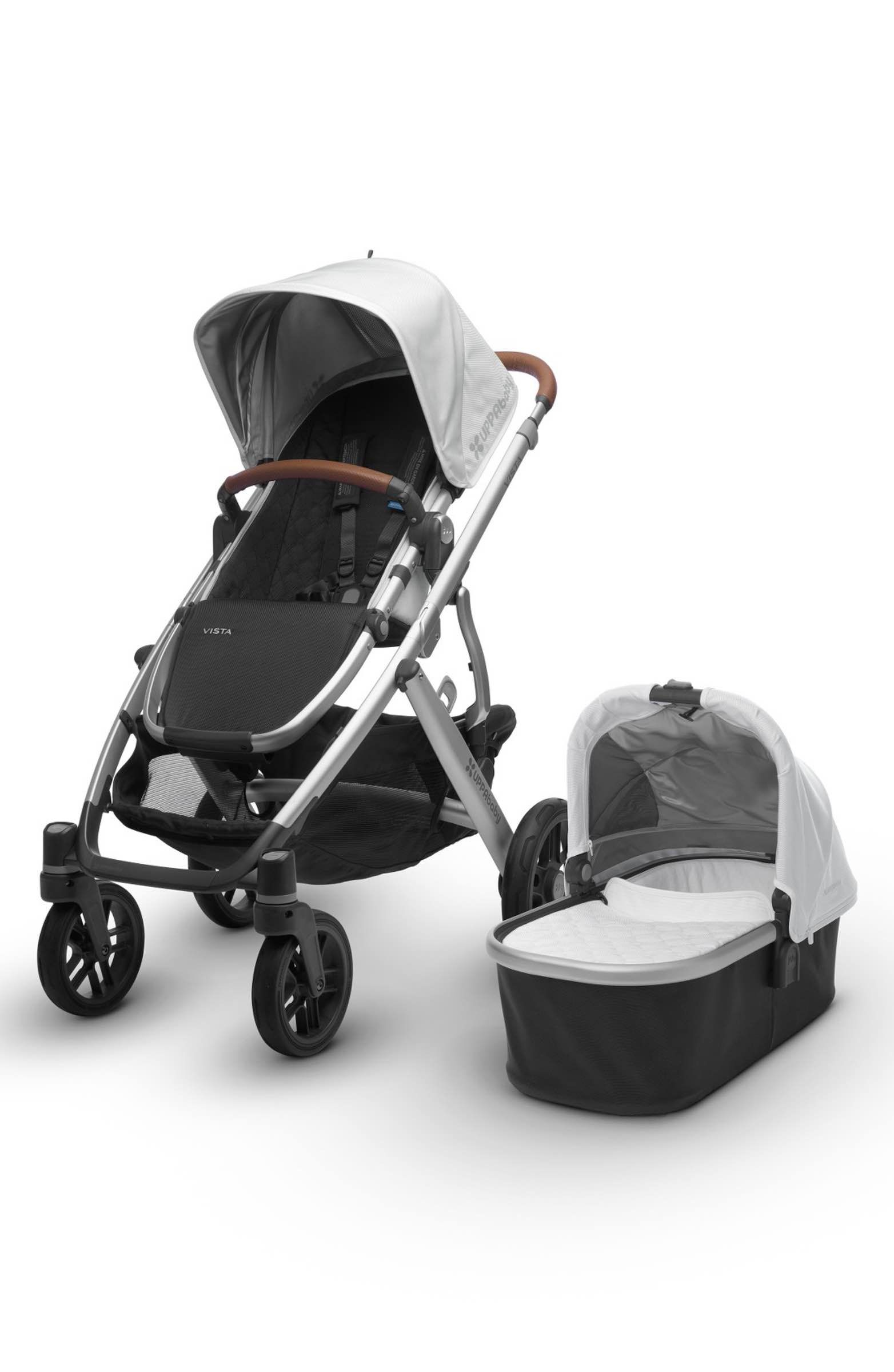 UPPAbaby 2017 VISTA Aluminum Frame Convertible Stroller