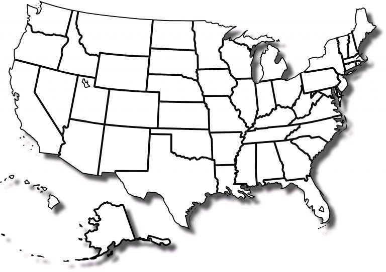 us map quiz no borders Map Us State Borders Printable Us Map No State Borders Clipart Of