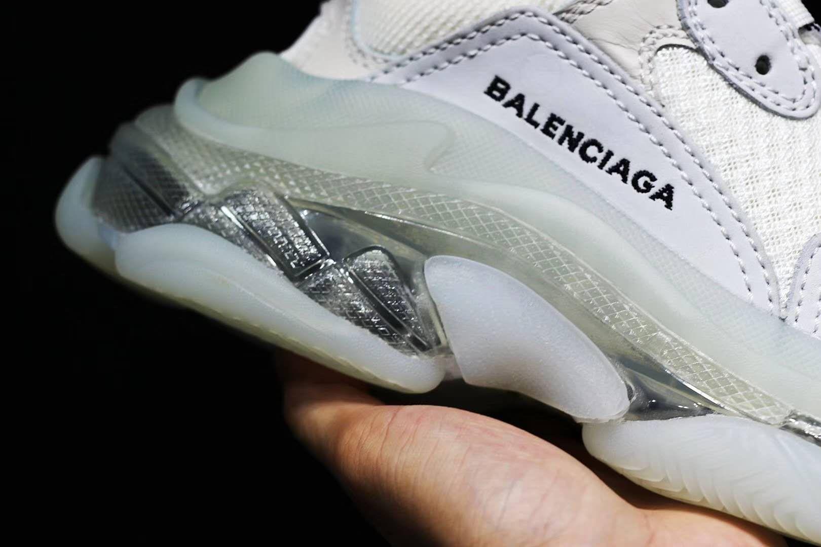 Balenciaga Triple S Retro Classic White