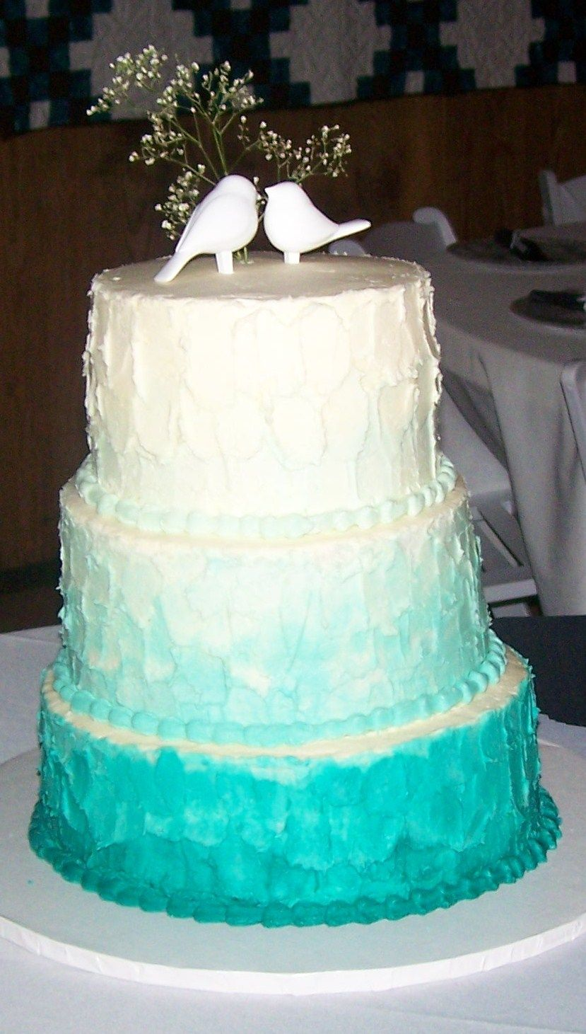 Ombre with Cake Top