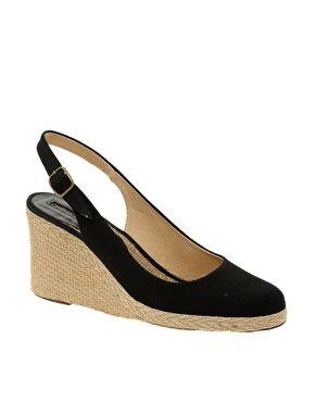 2945da403 Pied A Terre Imperia Slingback Espadrile Wedge Shoes   Insert my ...
