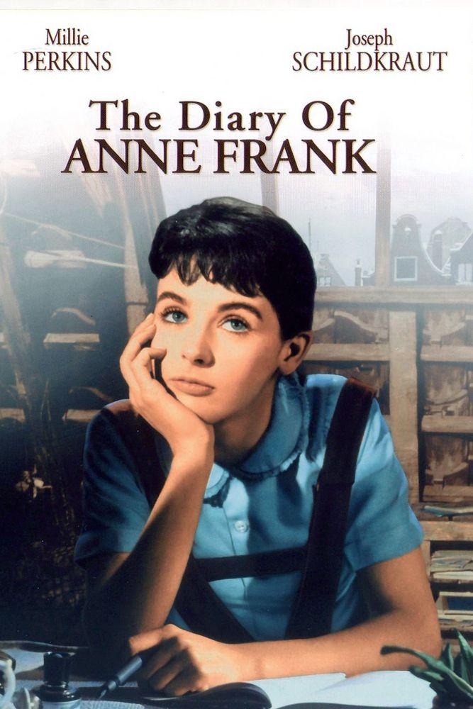 Watch Full The Diary Of Anne Frank Online El Diario De Ana Frank Carteles De Cine Ana Frank