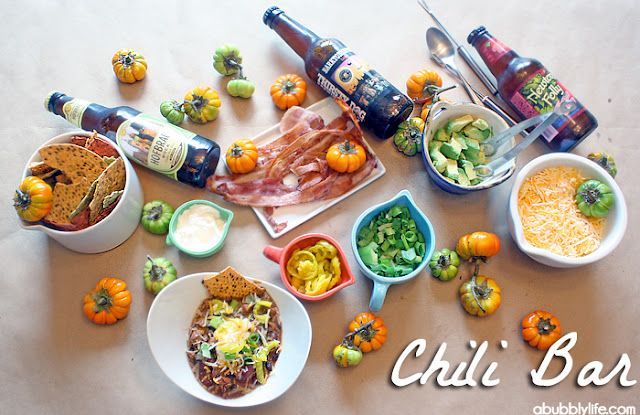 Fall Means Chili Bar #chilibar