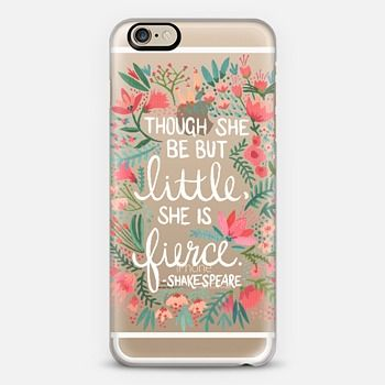 Though She Be But Little She Is Fierce Case Phone Cases
