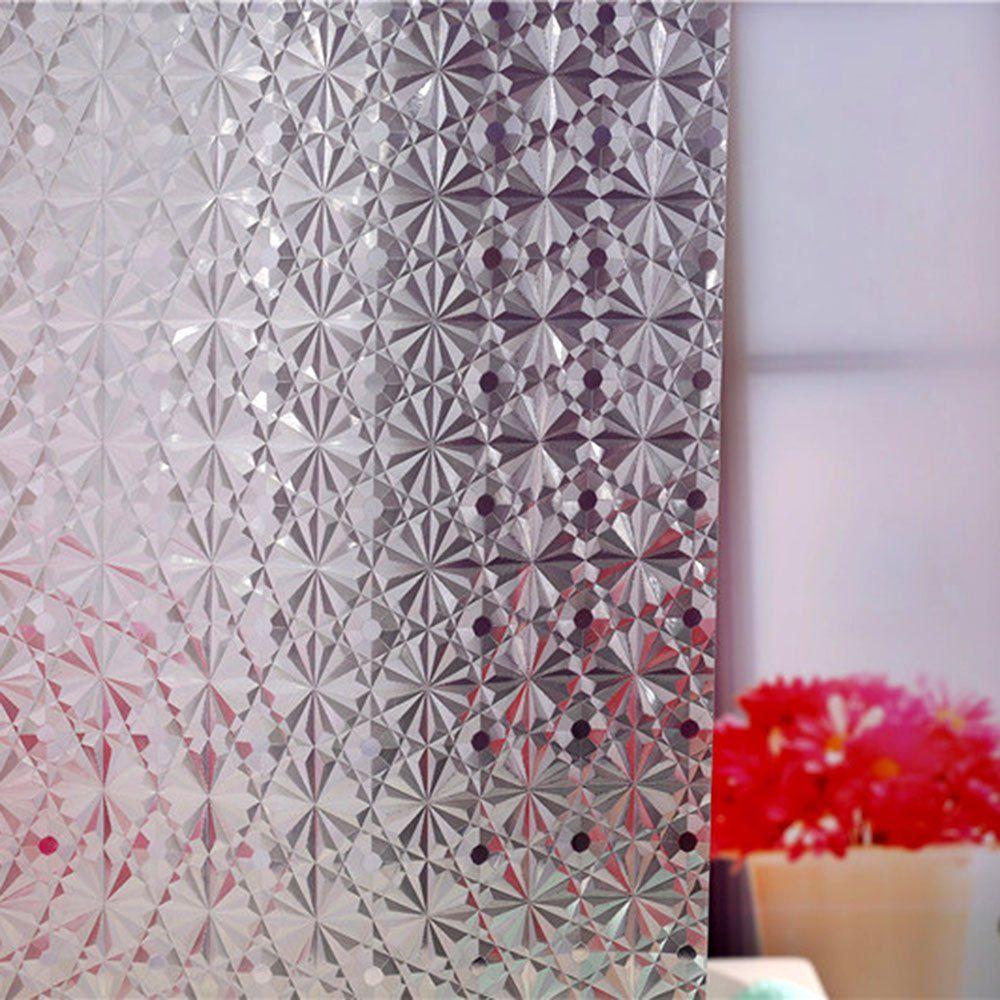 Wimaha Standard Diamond Design Shower Curtain Mildew Resistant