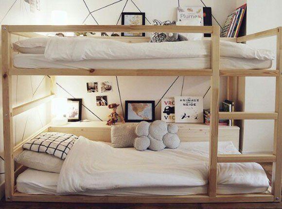 Slaapkamer Pimpen Ikea : 15 x inspiratie om het ikea kura bed zelf te pimpen kamer saar