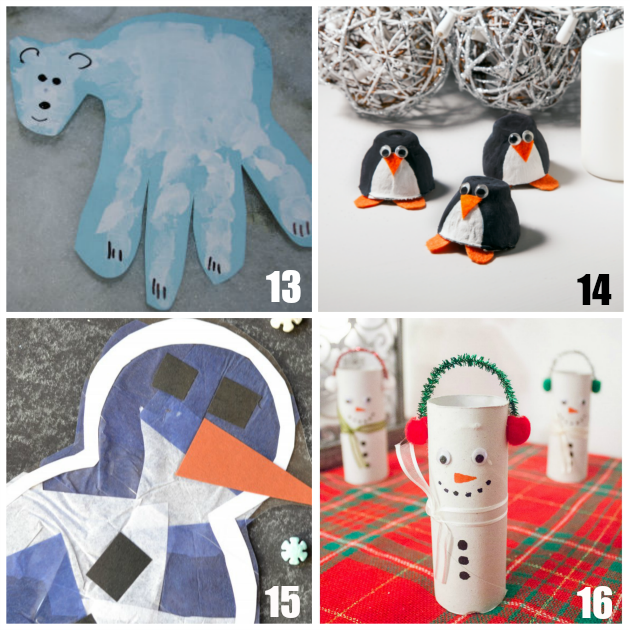 Christmas Craft Ideas For 2 Year Olds Part - 50: Winter Crafts For Preschoolers - Teaching 2 And 3 Year Olds