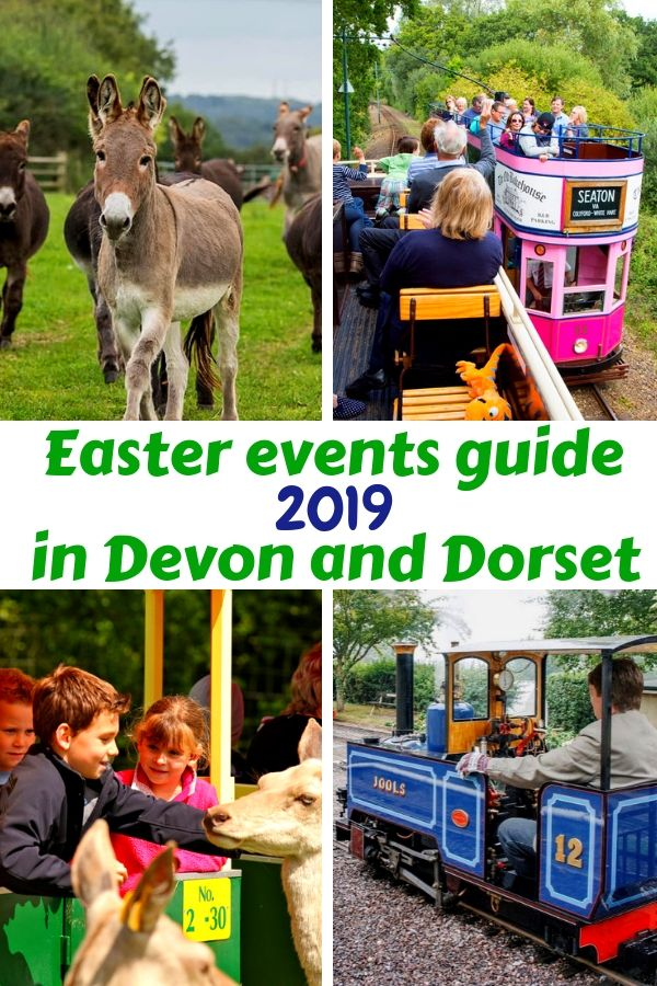 Easter events guide 2019. Devon and Dorset Easter event