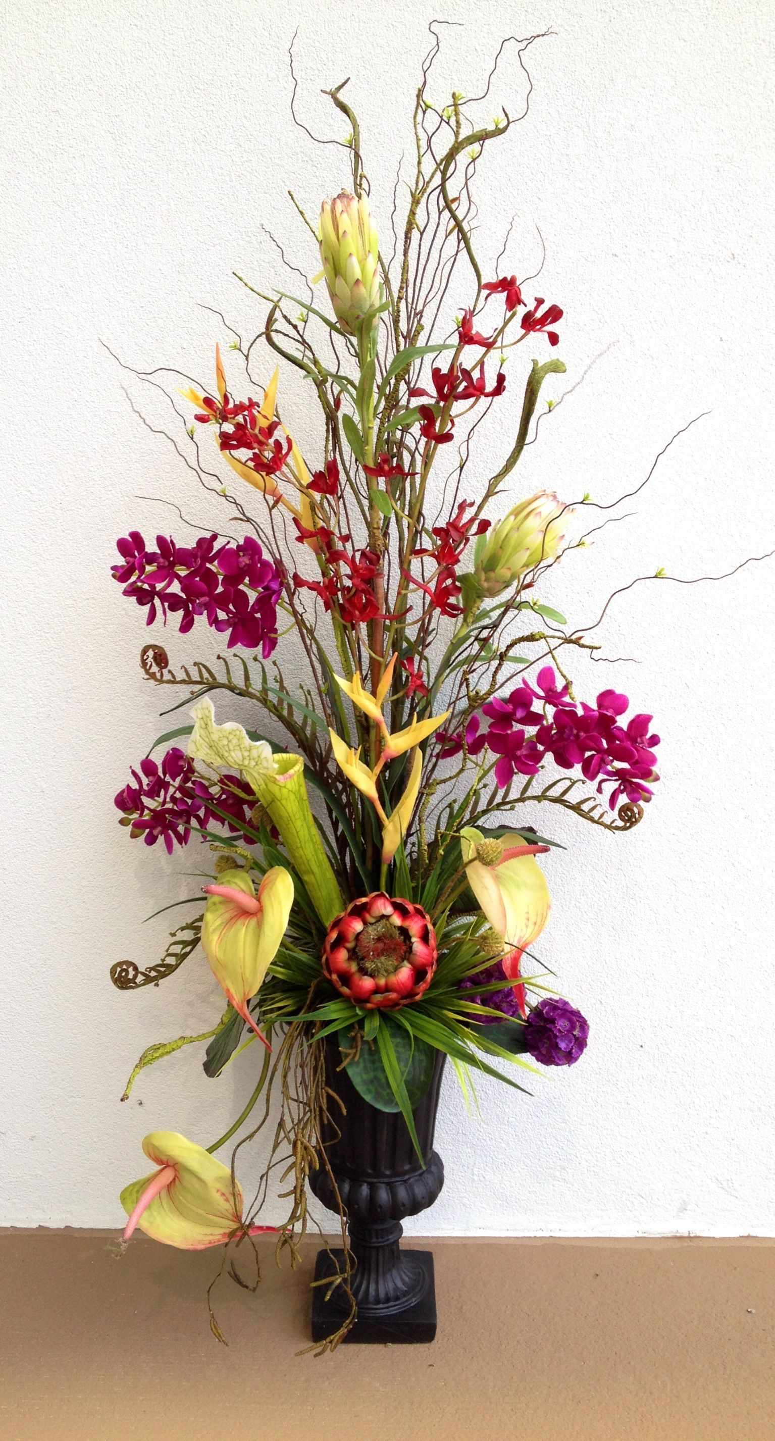 Ikebana Artificial Flower Arrangement