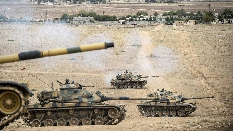 """Damascus considered any Turkish intervention in Syria """"aggressionis described by"""""""