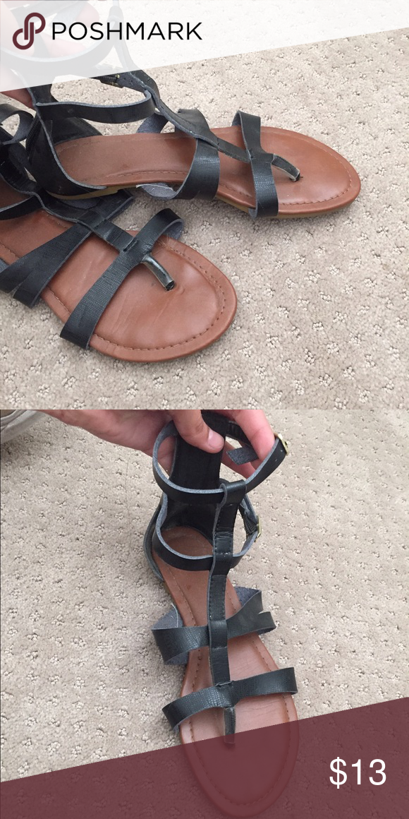 Gladiator sandals Worn but for the most part still in a good condition ANGL Shoes Sandals