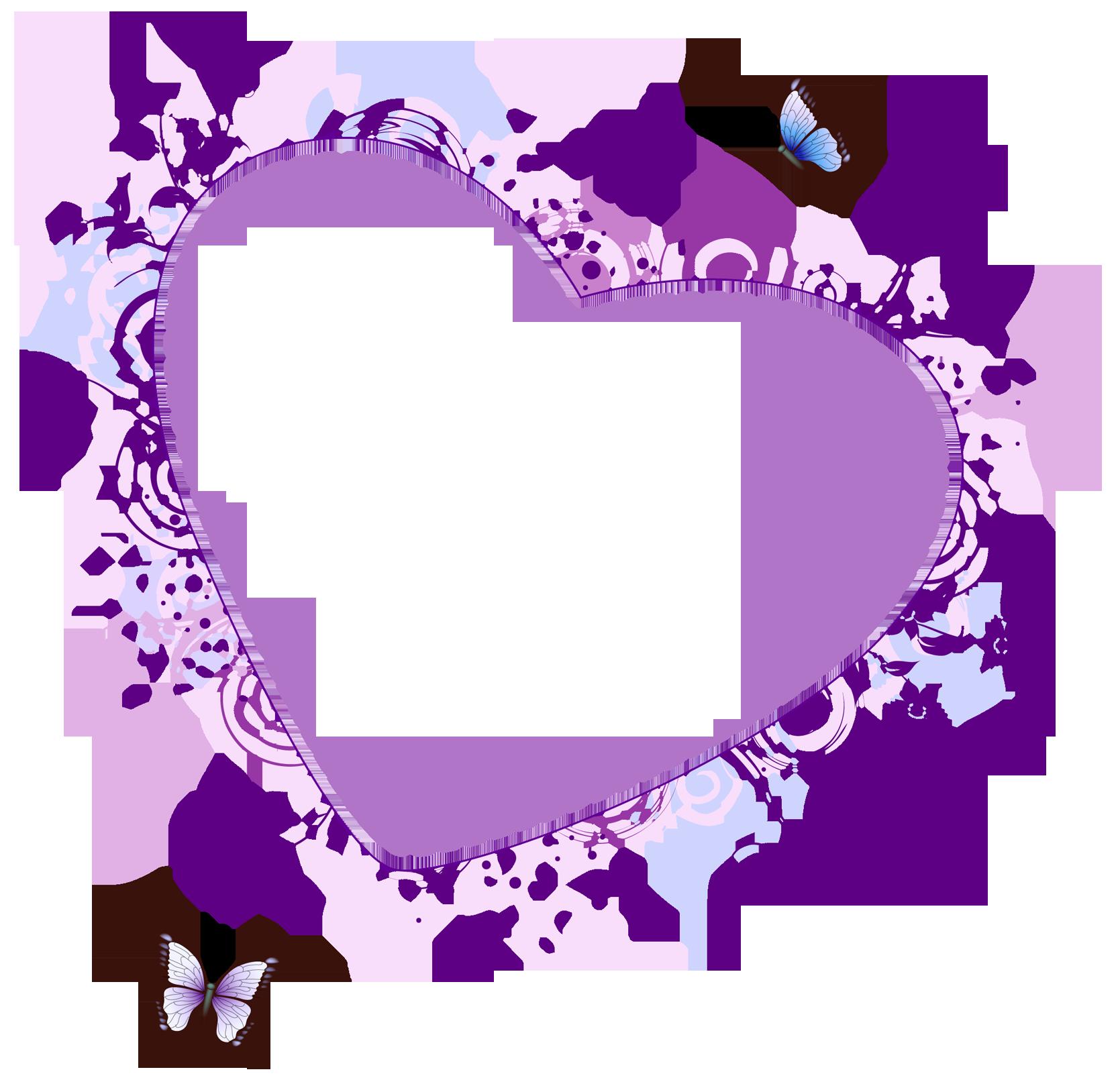 Purple Hearts Wedding Purple Heart Bo...