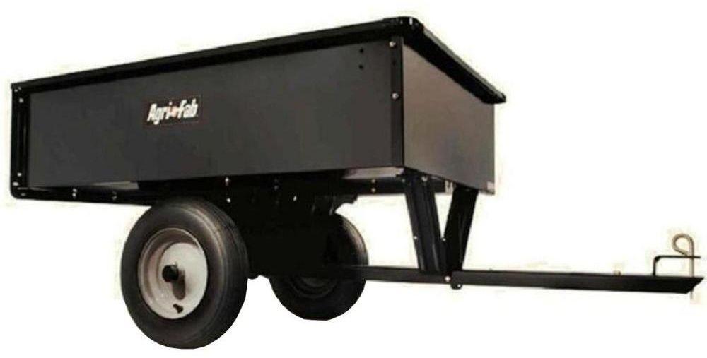 Agri Fab 10 Cu Ft 750 Lb Steel Dump Cart Wheelbarrow Dump Cart Yard Wagon